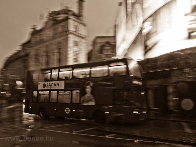 Double-decker bus at Piccad photo