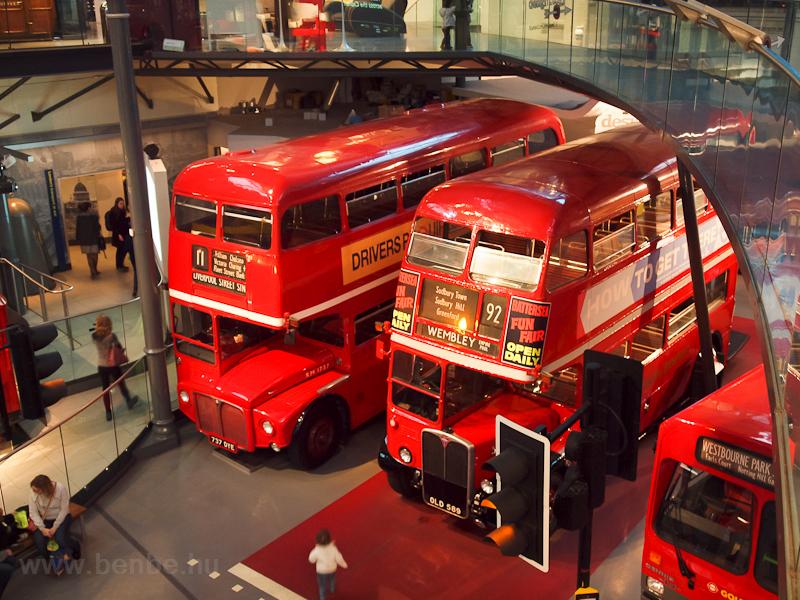 Routemaster emeletes buszok fotó