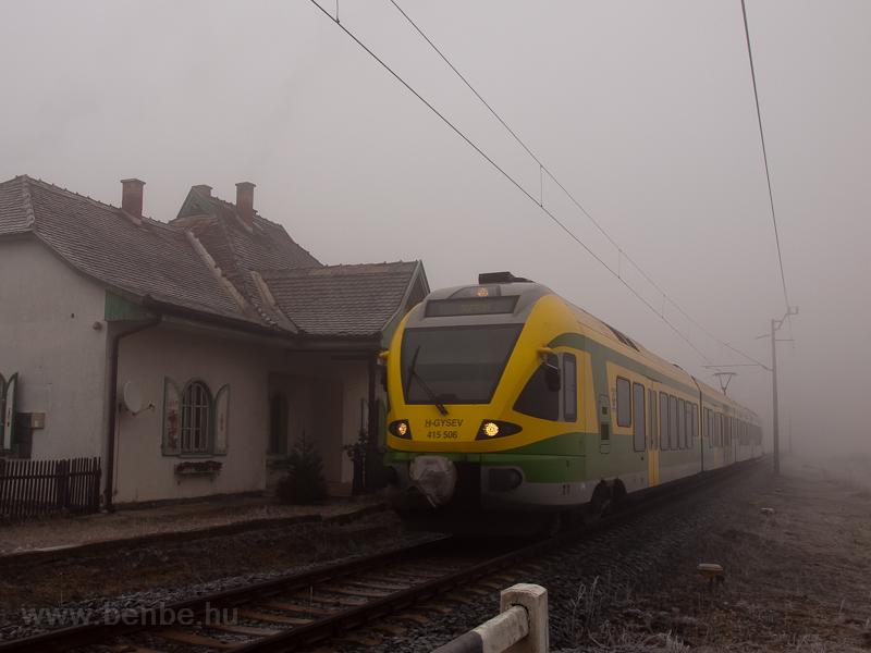 A GYSEV 415 506 pályaszámú  fotó