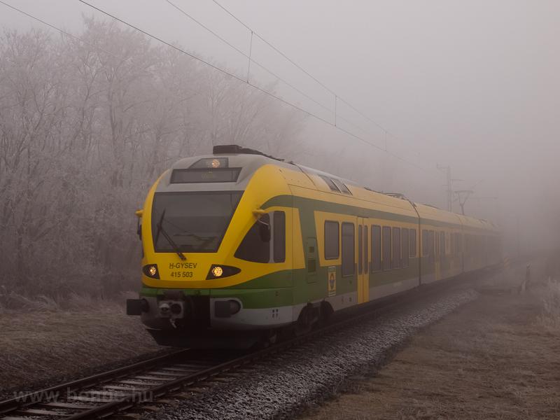 A GYSEV 415 503 pályaszámú  fotó
