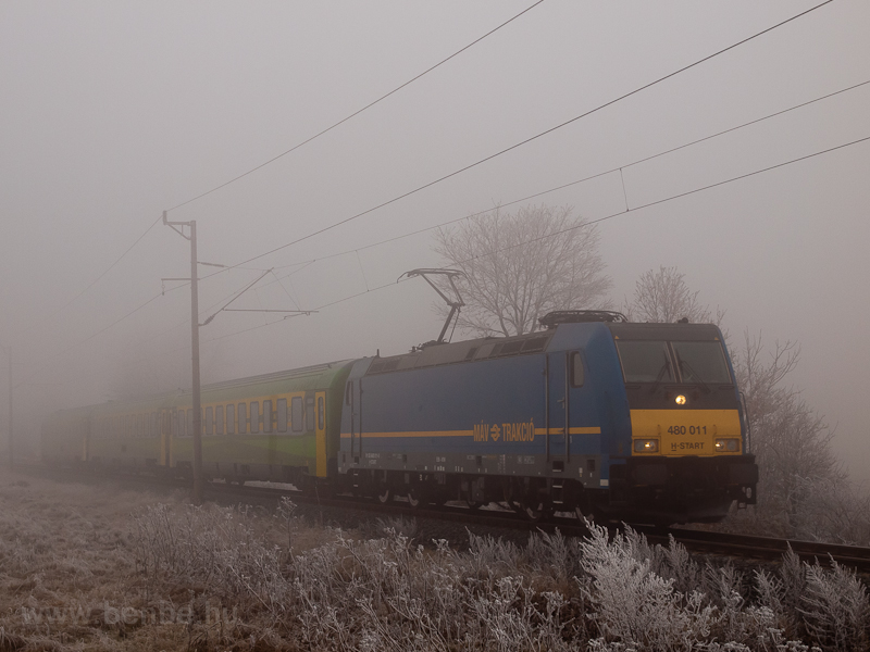 The 480 011 near Nagycenk-H photo