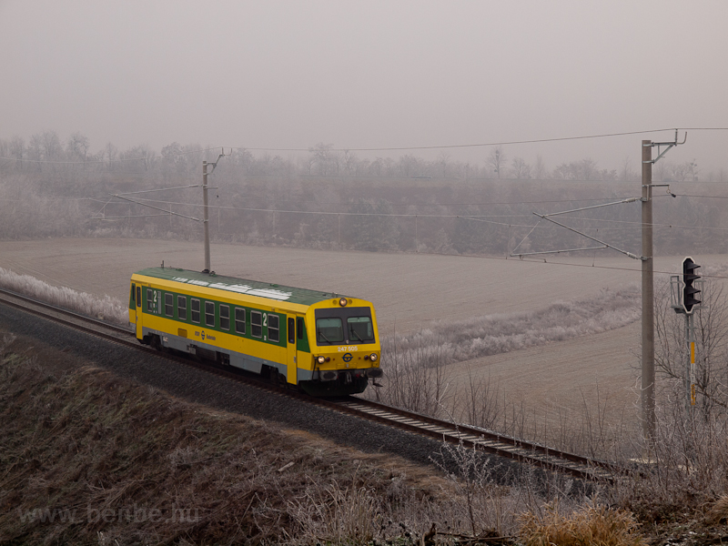 The GYSEV 247 505 seen betw photo