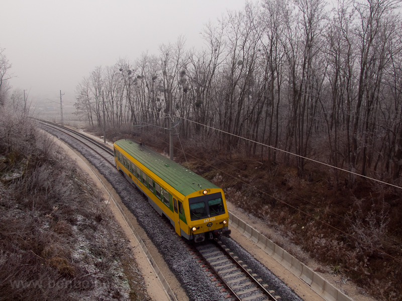 The GYSEV 247 505 seen betw picture