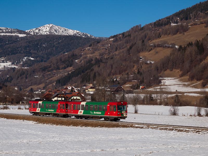 Az STLB Murtalbahn VT33/VS4 fotó