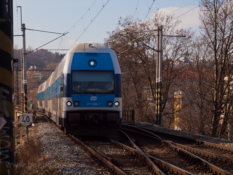 The ČD 471 068-7, City photo