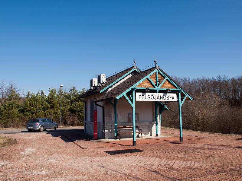 Felsőjánosfa depot photo
