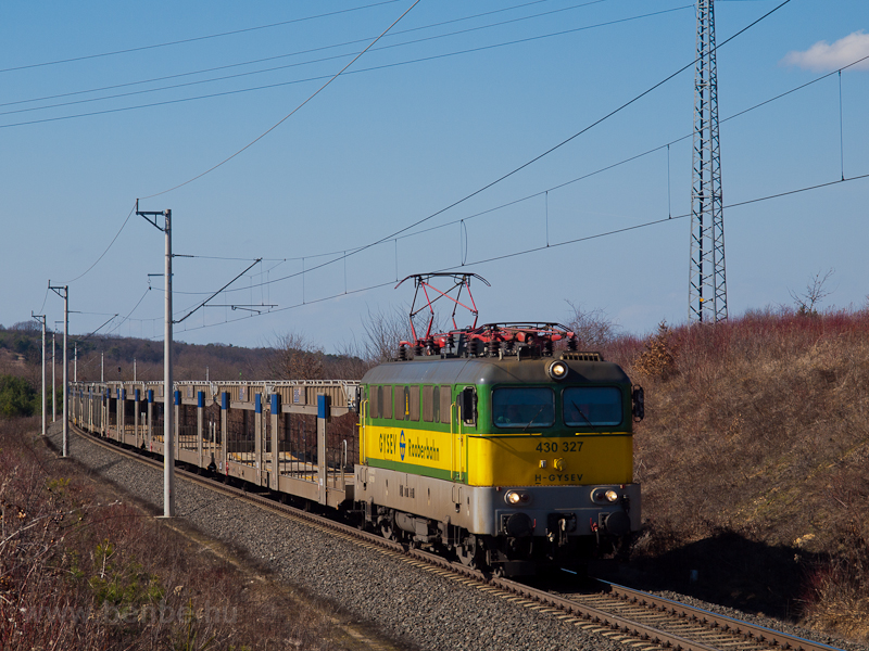 The GYSEV 430 327 between F photo