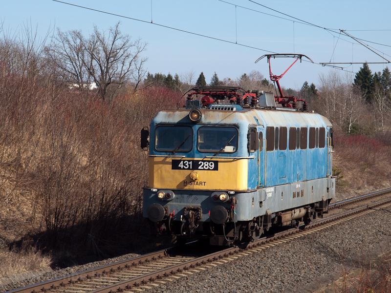 A MÁV-START 431 289 gépmene fotó