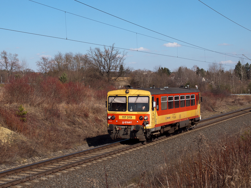 The 117 319 at Zalalövő photo
