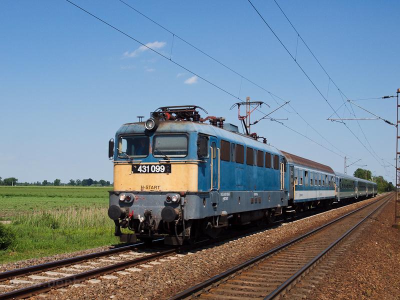 A 431 099 Schlieren-kocsikk fotó