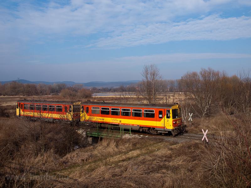 Bzmot railcars near Drégely photo