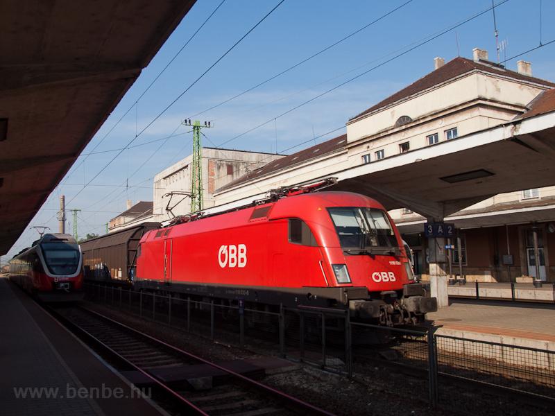 The ÖBB 1116 030 is seen ha photo