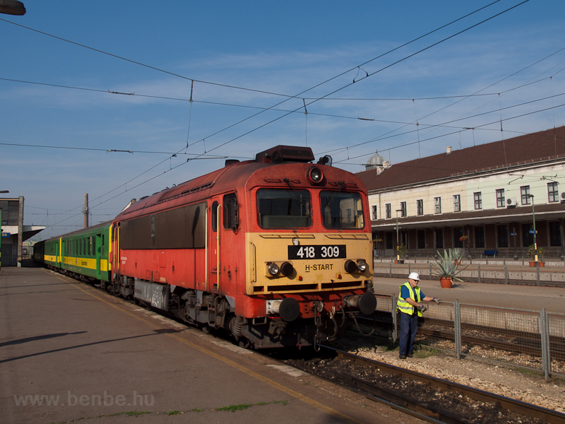 418 309 at Győr picture