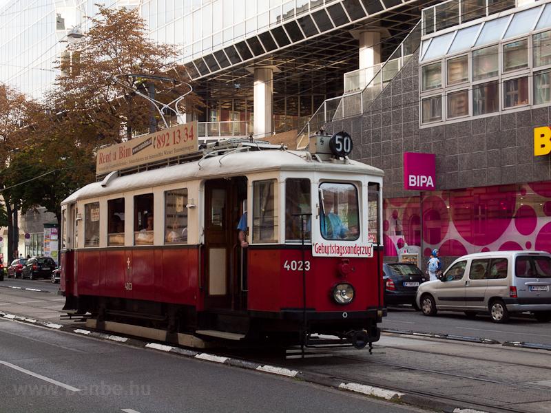 Birthday tram/Geburtstagsso picture