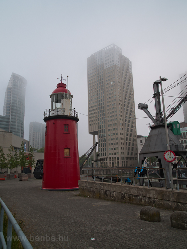 Lighthouse at Rotterdam photo