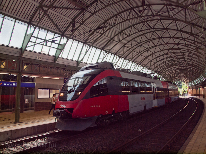 The ÖBB 4024 136-6 seen on  photo