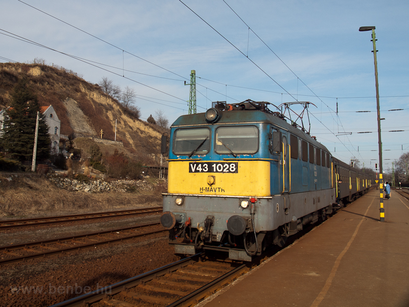 The V43 1028 seen at Tokaj photo