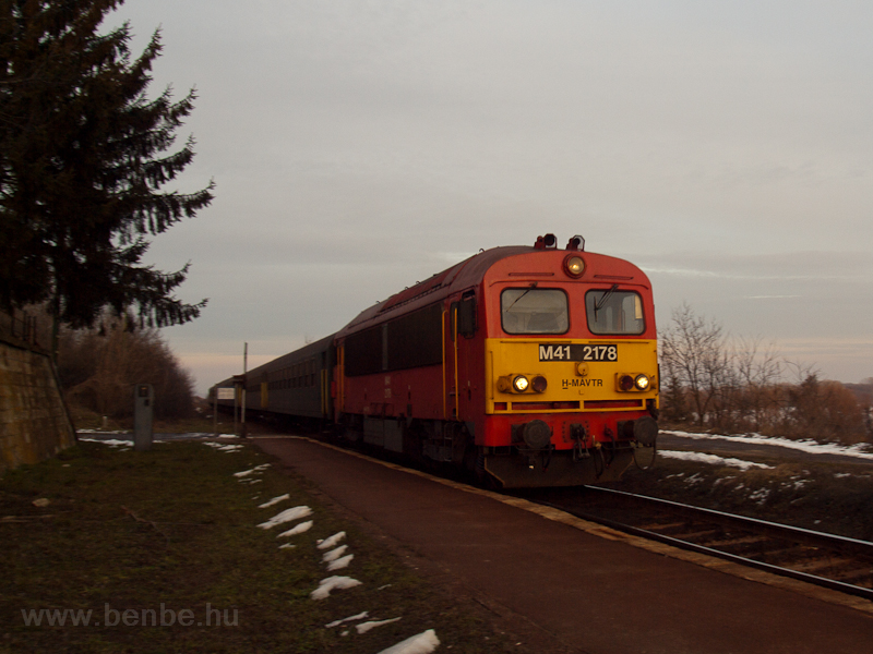 The M41 2178 seen at Szegi photo