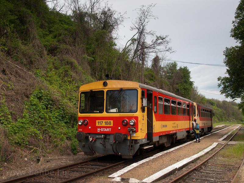 The 117 188 at Szilvásvárad photo