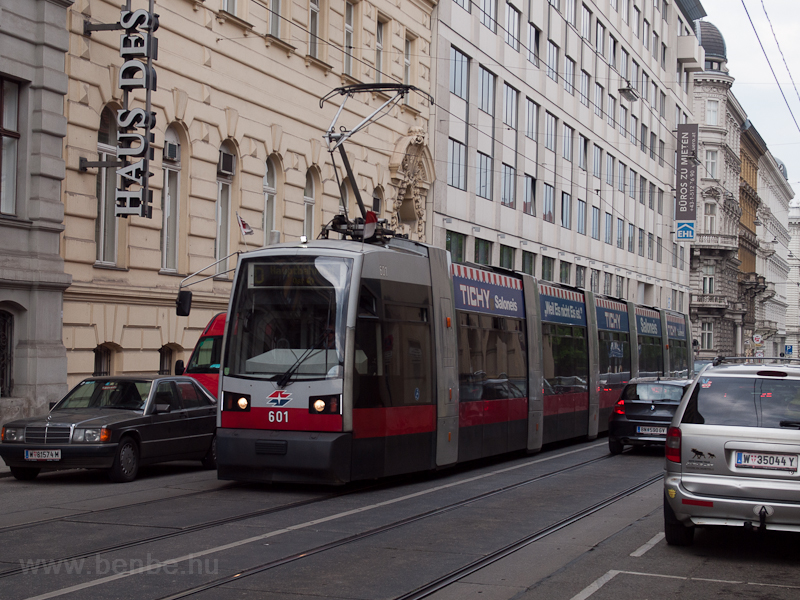 Long ULF tram in Vienna on  photo