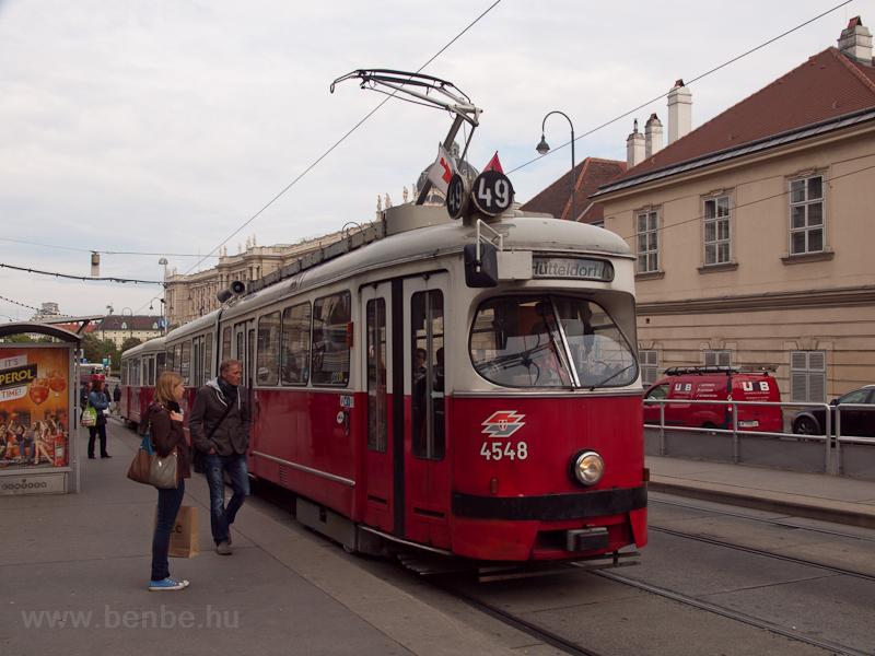 Tram E1 at line 49 photo