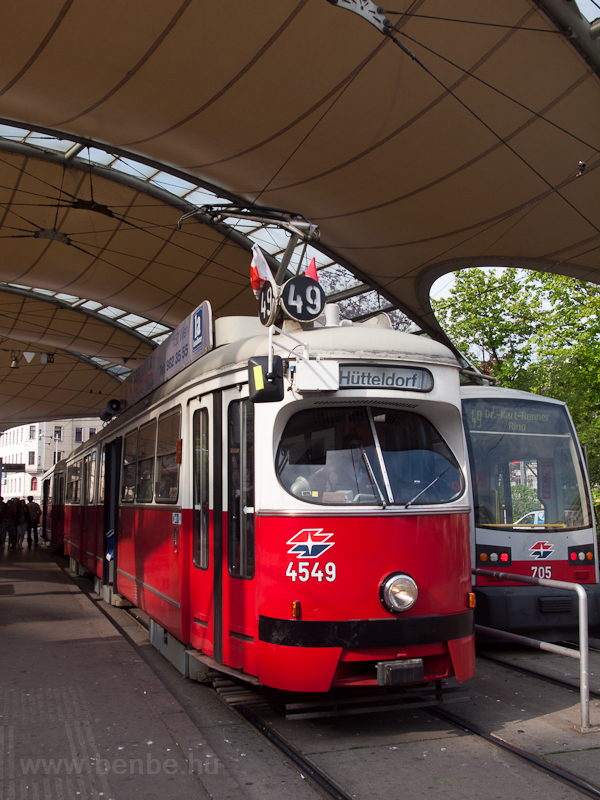 Wiener Linien E1 type tram  photo