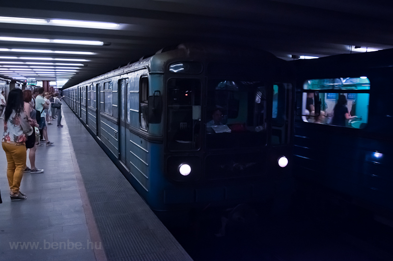 Old Russian metro at Árpád- photo