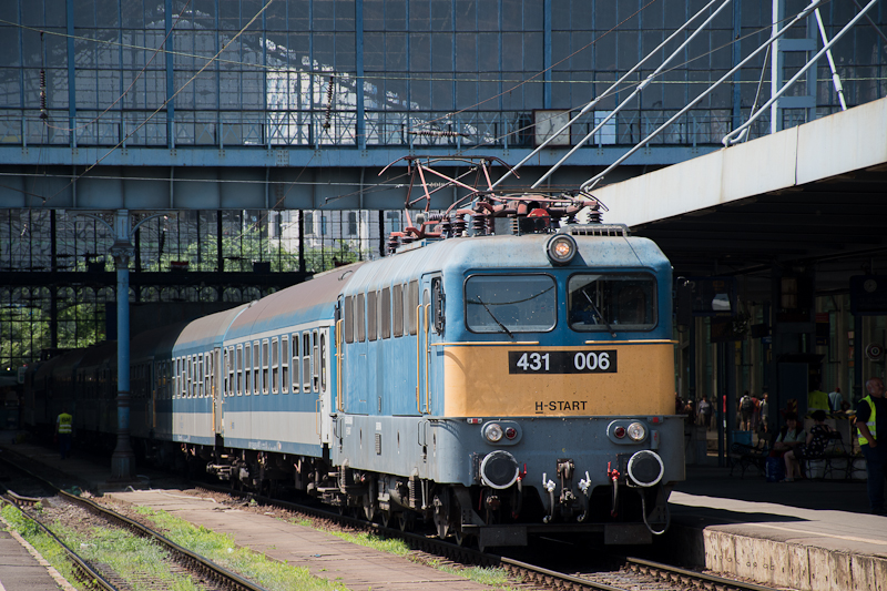 The 431 006 at Budapest-Nyu photo