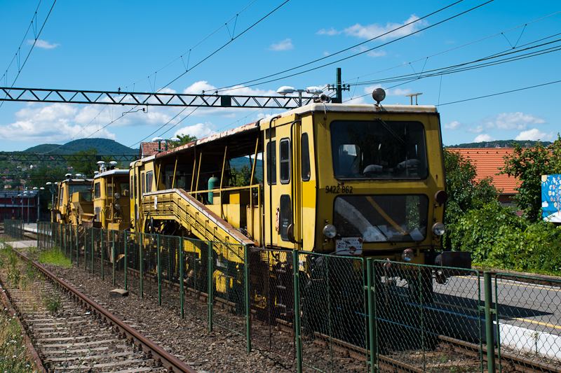 Track maintenance vehicles  photo