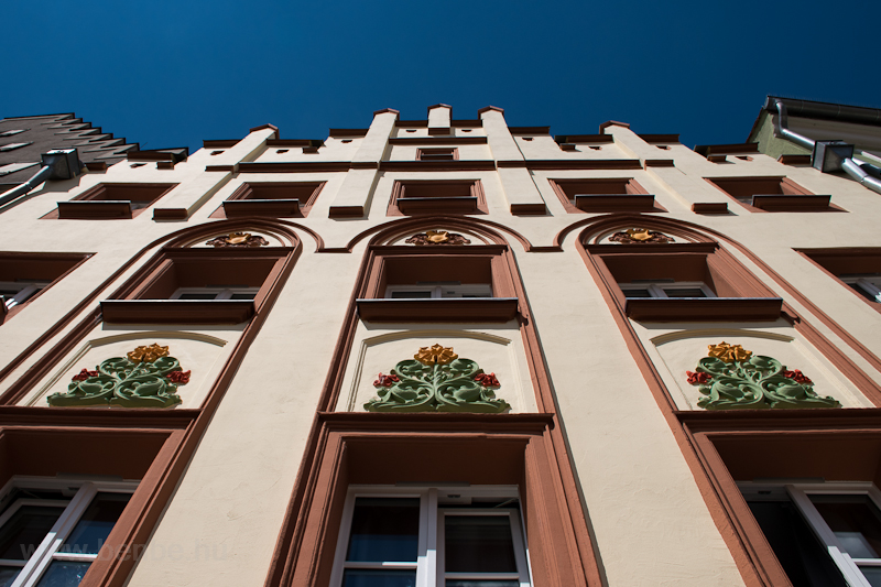 Ház Regensburgban  fotó