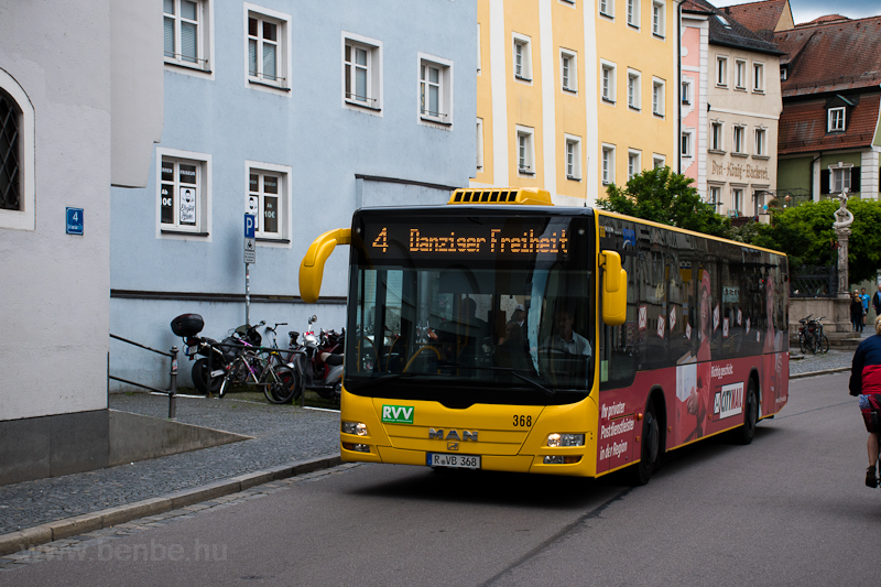 Bus at Regensburg photo