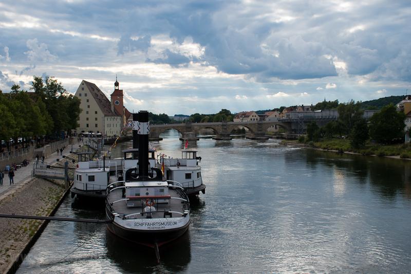 Regensburg és a Duna  fotó
