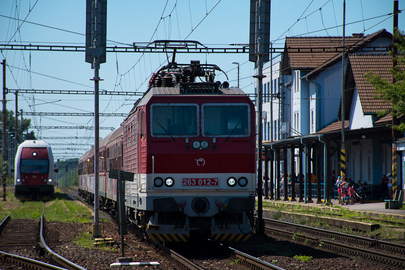 The ŽSSK 263 012-7  Pr photo