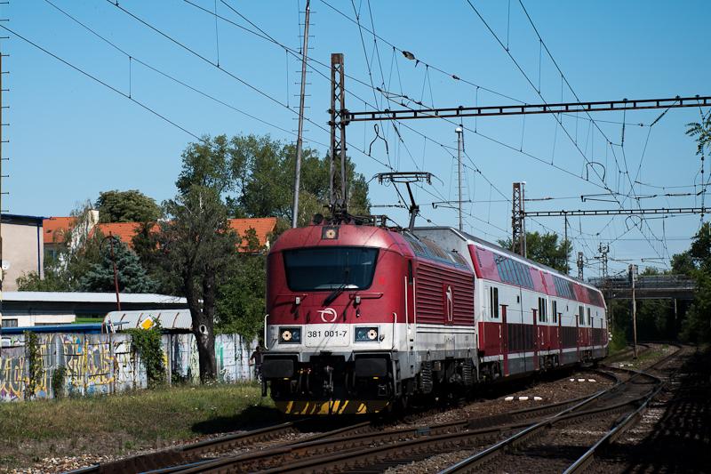 A ŽSSK 381 001-7 pálya fotó