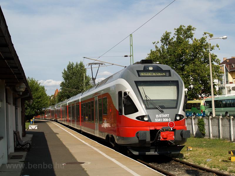 The 5341 008-0 at Siófok photo