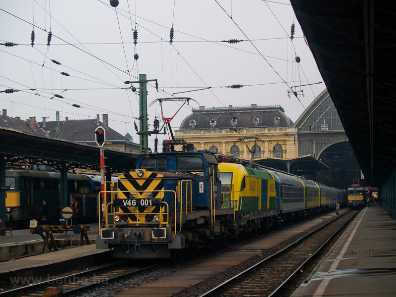 The V46 001 at Budapest-Kel picture