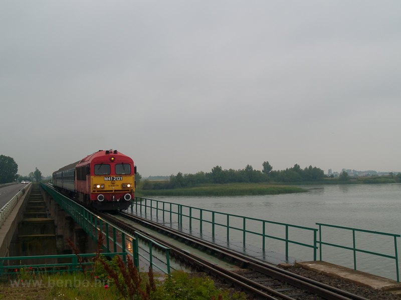 The M41 2131 seen on the bridge over the Tisza lake photo