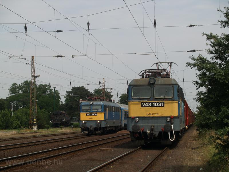 A V43 1031 és a V43 1100 Me fotó