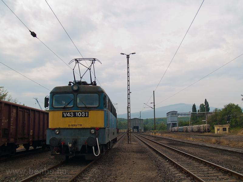 The V43 1031 at Visonta In  photo