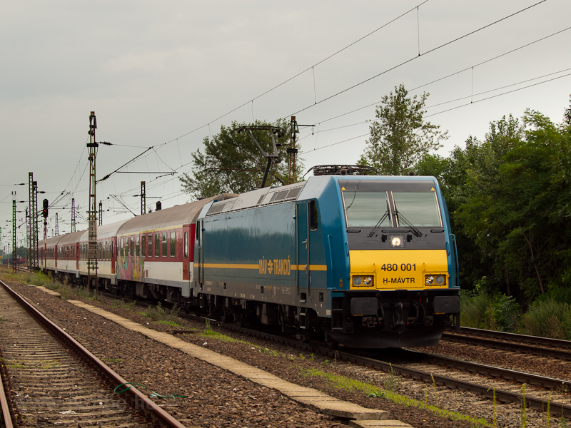 The MÁV 480 001 seen at Mez picture