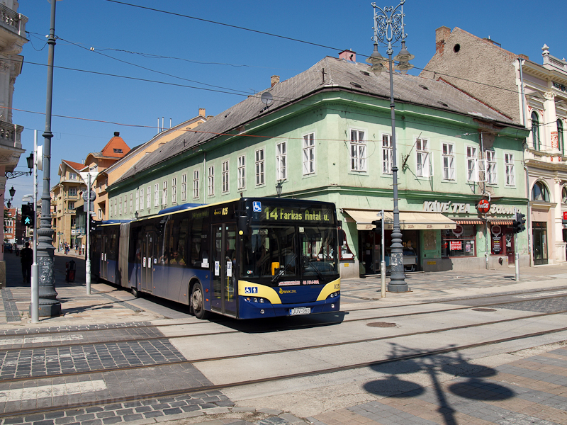 A Neoplan bus at Miskolc photo