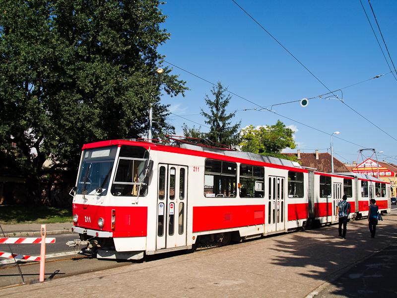 A Miskolc KT8D5 tram photo