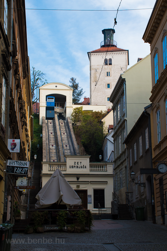 The Zagreb funicular photo