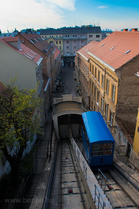 The Zagreb funicular photo
