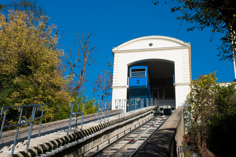 The Zagreb funicular picture