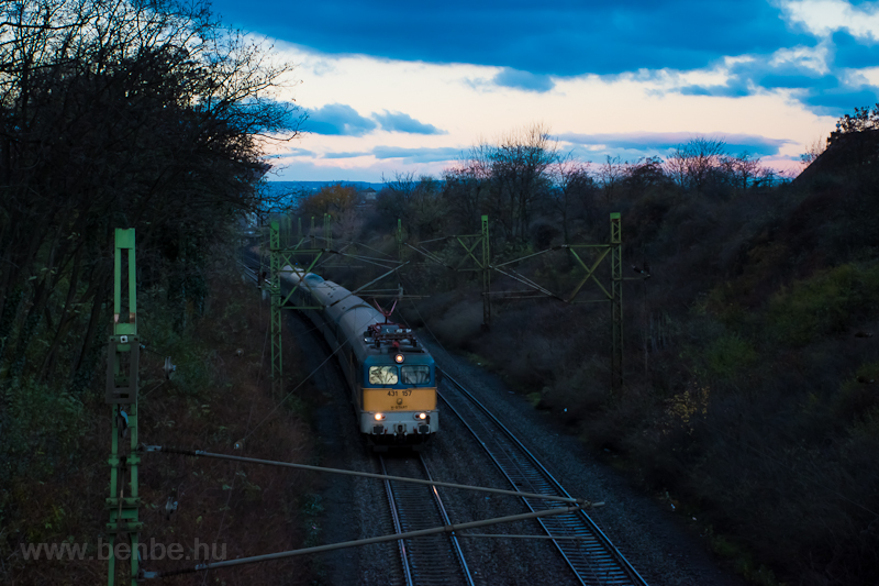 The 431 157 seen near Pests photo