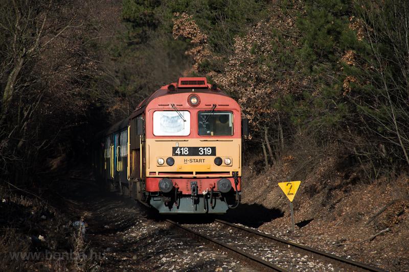 A MÁV-START 418 319 Veszprém és Eplény között  fotó