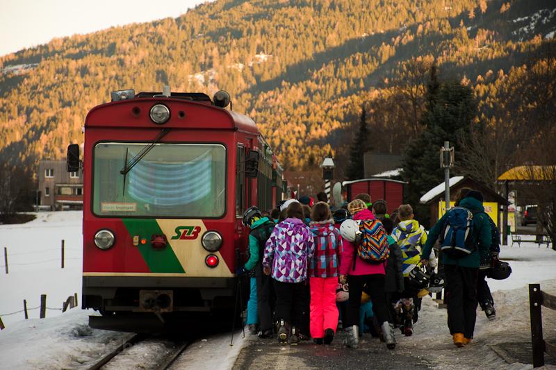 The Murtalbahn VT33 railcar picture