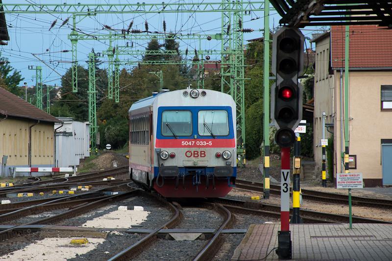 Az ÖBB 5047 033-5 Sopronban  fotó