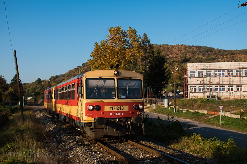 A 117 243 Magyarkút-Verőcénél  fotó